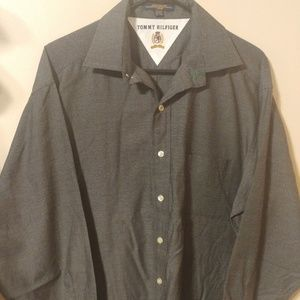 Vintage Tommy Hilfiger Casual Button Up Shirt 15.5